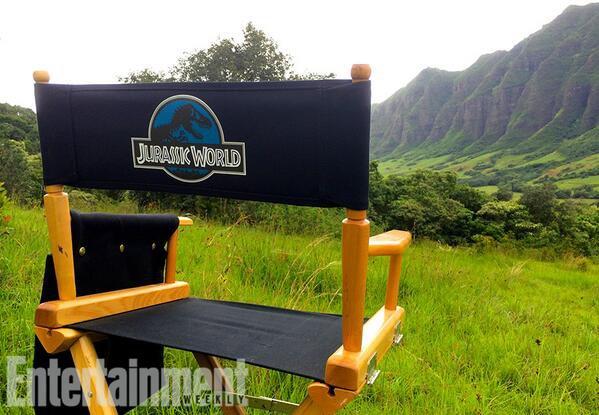 #EDIT #JurassicWorld @EW nous dévoile les premières photos !