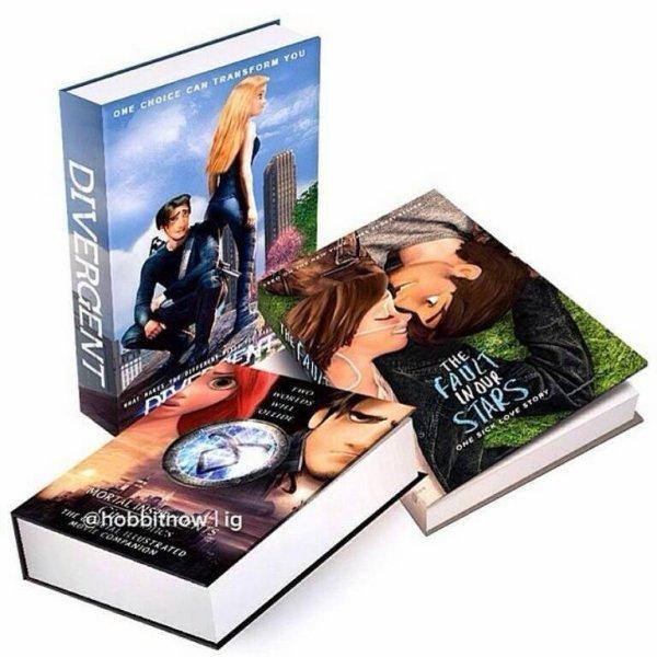 Des livres réédités façon Disney, c'est super bien réalisé !