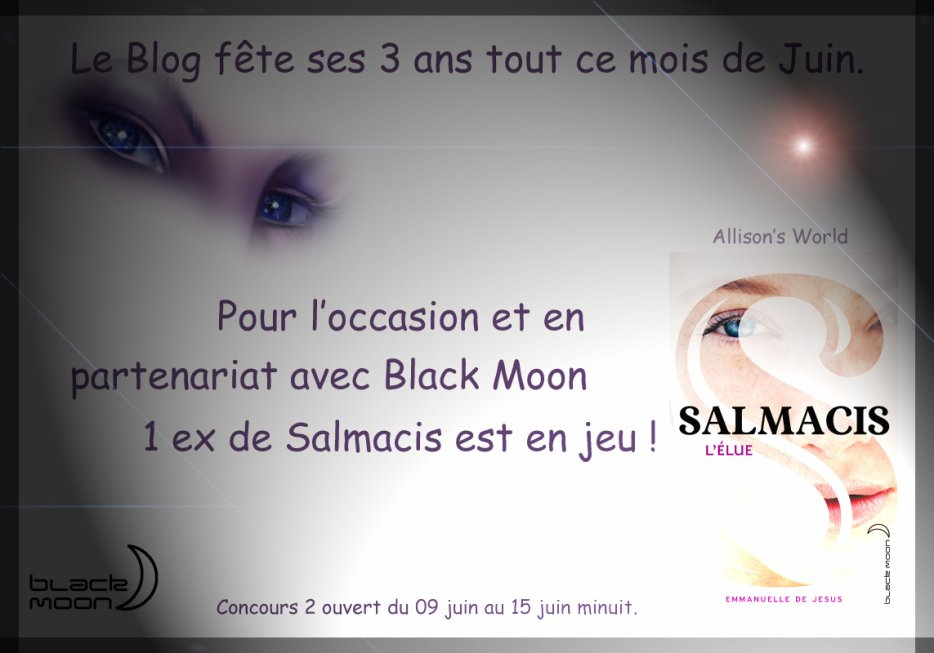 Résultat du concours Salmacis d'Emmanuelle de Jesus