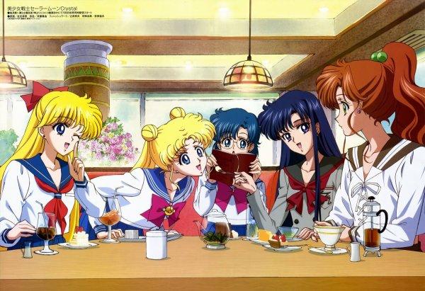 Pour les nostalgiques: Sailor Moon Crystal une nouvelle image de l'animé 2014