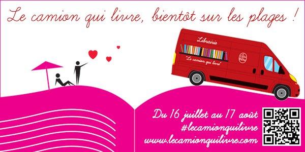 #RAPPEL pour #lecamionquilivre @livredepoche !