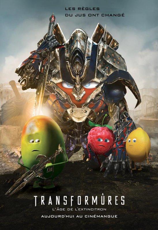 Oasis Be Fruit et leurs parodies d'affiches ! MDR ...