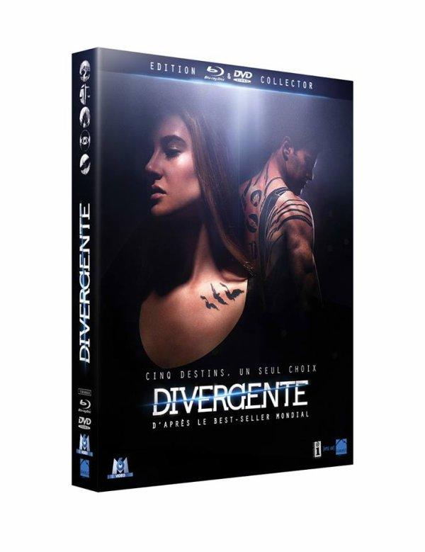 Jour J !! C'est aujourd'hui que sort Divergente en DVD & BLU-RAY !