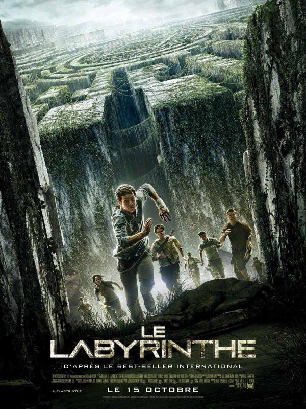 Le Labyrinthe adaptation du livre de James Dashner le 15 octobre au cinéma !