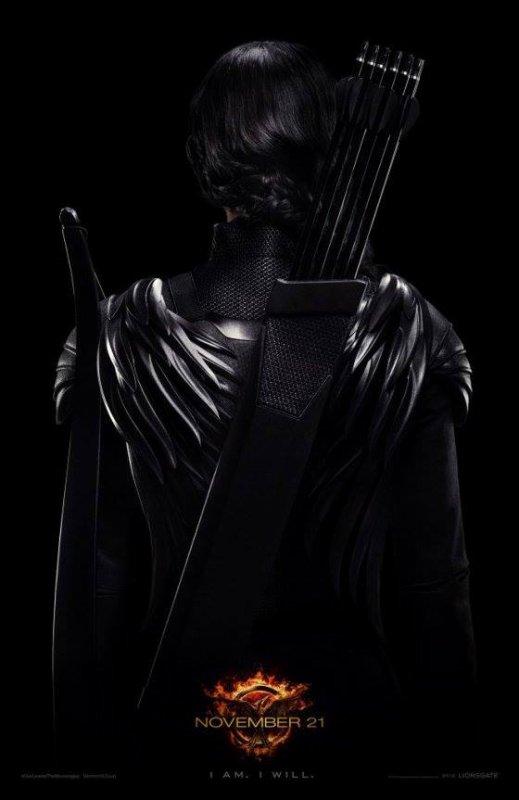 #EDIT: Le poster de Katniss maintenant en FR