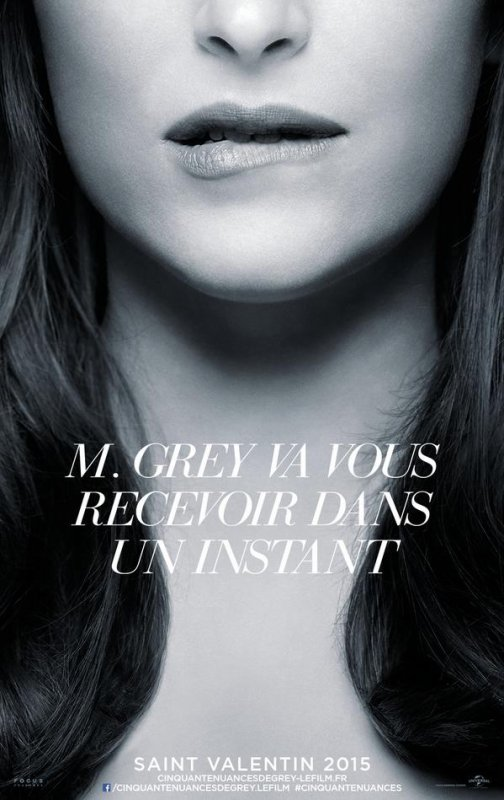 #FiftyShadesOfGrey Le poster d'Anastasia OMG ! *-* (j'ai trop hâte)