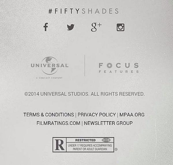 #NEWS #FiftyShadesOfGrey sera interdit aux moins de 17 ans aux USA