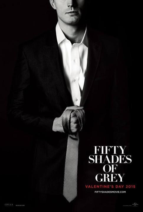 #FiftyShadesOfGrey Le poster de Christian