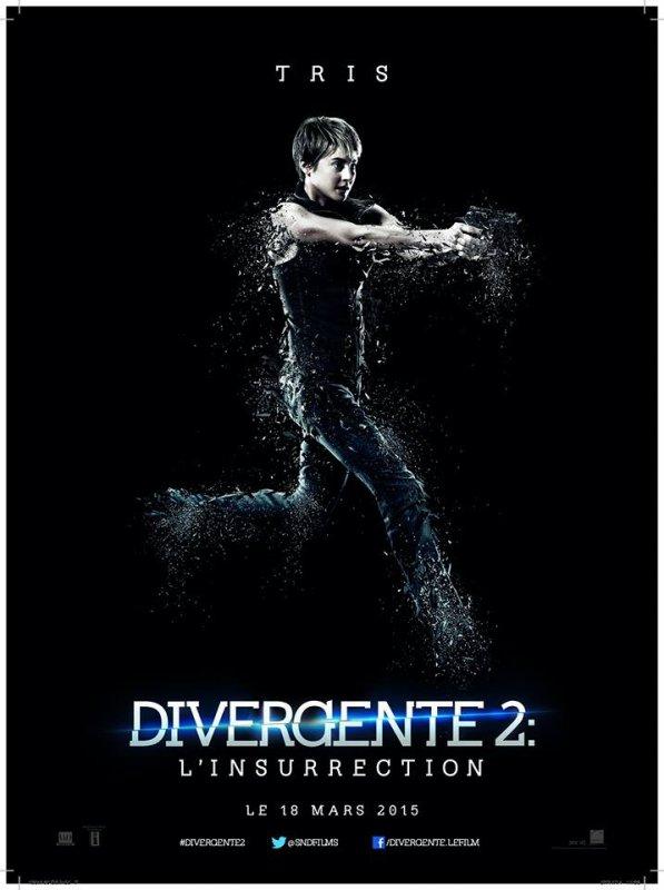 #Divergente2: L'insurrection le poster de Tris VF
