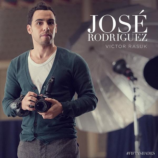 #NEWS #FiftyShadesOfGrey voici José Rodriguez