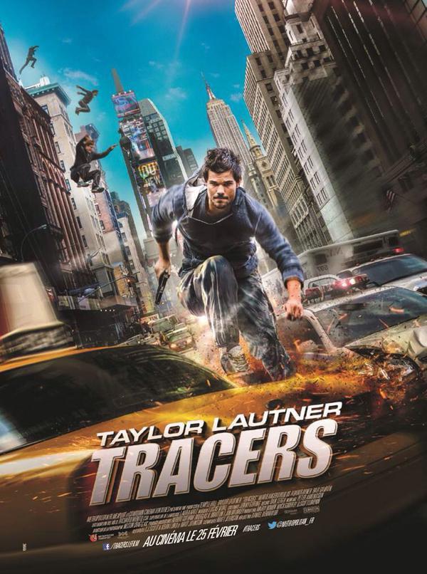 Taylor Lautner le retour ! TRACERS le 25 Février au cinéma !