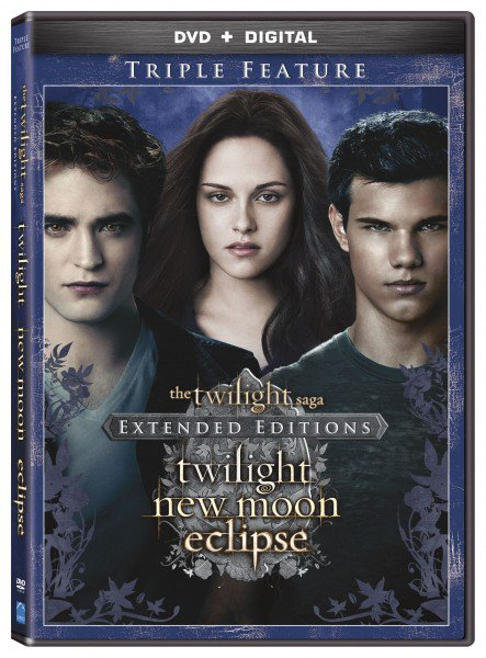 #Twilight #NewMoon & #Eclipse ressortent en version longue aux USA le 13 Janvier !