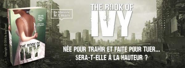 The Book Of Ivy de Amy Engel à paraître le 5 mars chez @LumenEditions