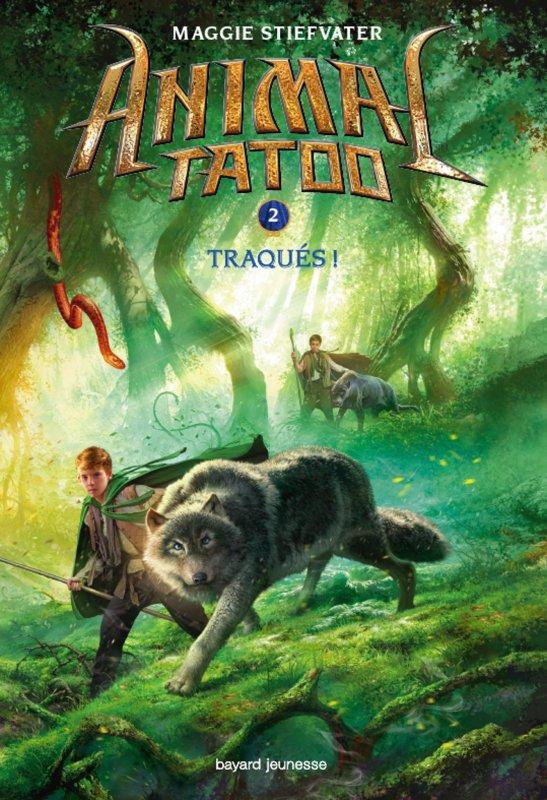 Réception du jour, bonjour ! Animal Tatoo T2 Traqués de Maggie Stiefvater @BayardEditionsJ