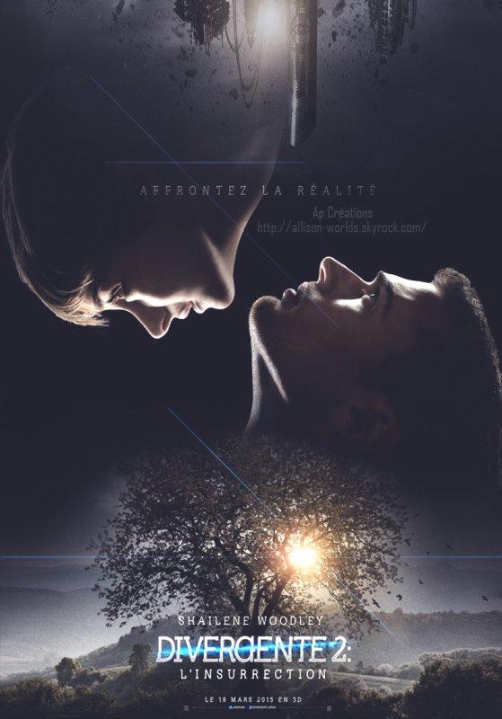 Affiche #Divergente2 réalisée par mes soins !