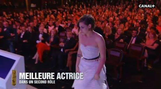 Bravo à Kristen Stewart qui a remporté le César du meilleur second rôle dans Sils Maria !