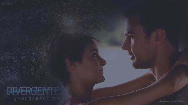 Fond d'écran: Un peu d'amour dans ce monde de brute ! #Tris #Four #Love #Divergente2