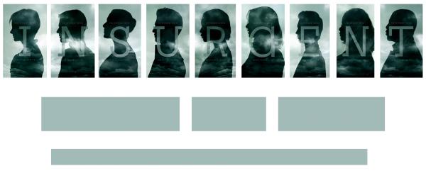 #Divergente2: L'insurrection nouvelles affiches personnages !