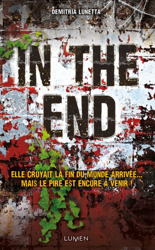 Réception du jour, bonjour ! (2) In The End de Demitria Lunetta @LumenEditions