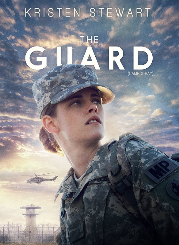 #NEWS #KristenStewart Camp X-Ray (The Guard chez nous) l'affiche du film !
