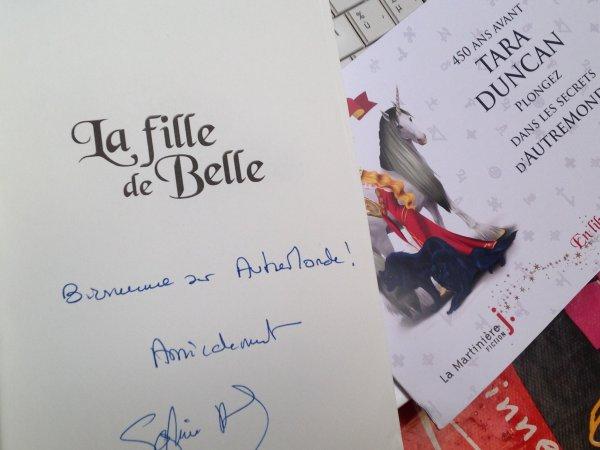 Réception du jour, bonjour ! La fille de Belle de Sophie Audouin-Mamikonian @ed_lamartiniere
