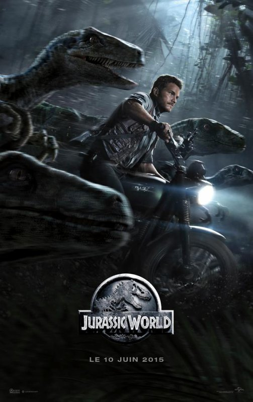 #EDIT2 #NEWS #JurassicWorld une nouvelle affiche !