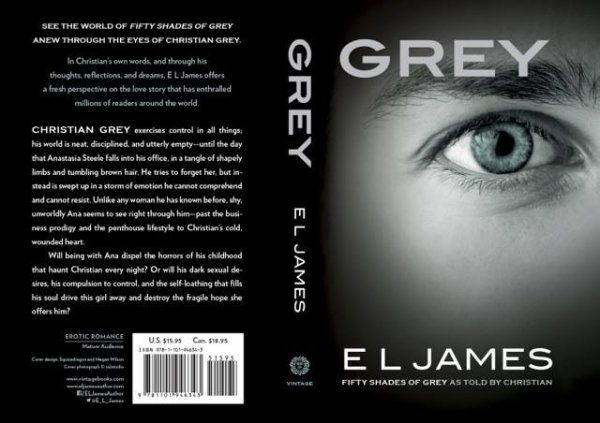 #GOOD #NEWS #GREY le nouveau roman de EL James le 10 septembre en France !