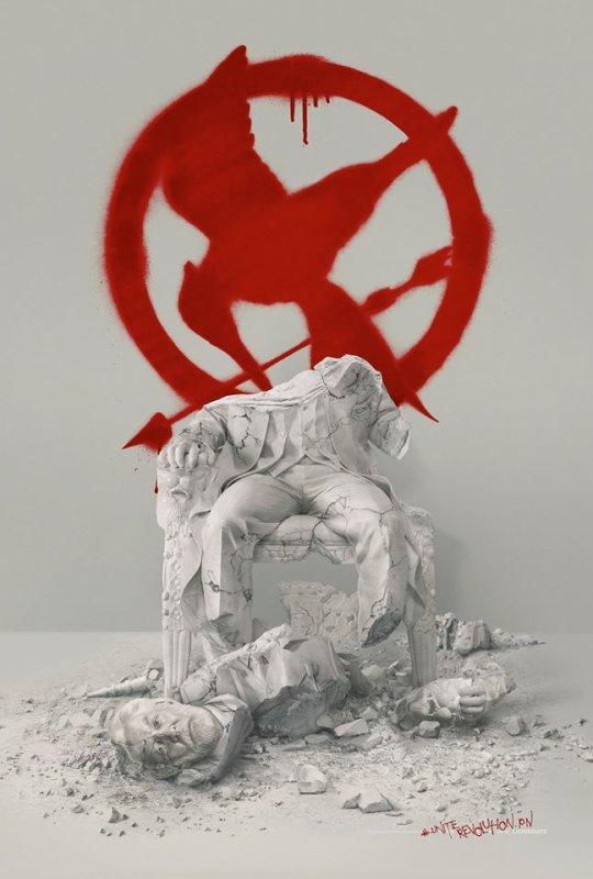 #NEWS #MockingjayPart2 la première affiche teaser et la toute première photo du film !
