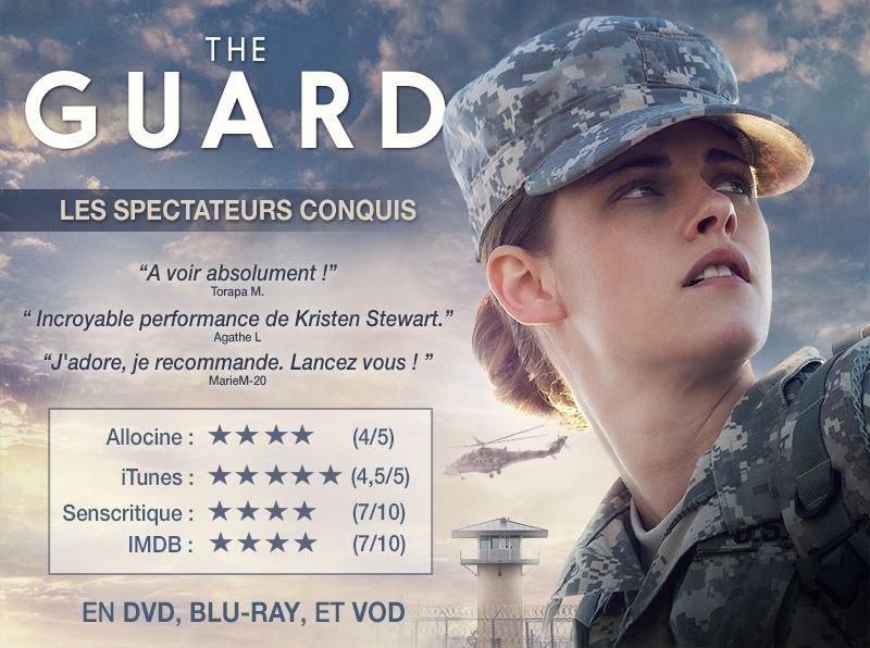 #TheGuard avec #KristenStewart est désormais disponible en DVD, BLU-RAY et en VOD !