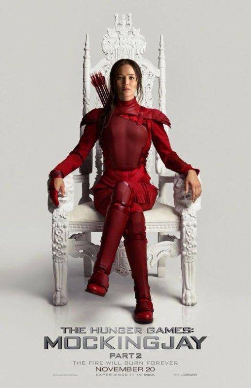 #NEWS #HungerGamesLaRévoltePart2 un nouveau poster de Katniss ! OMG !