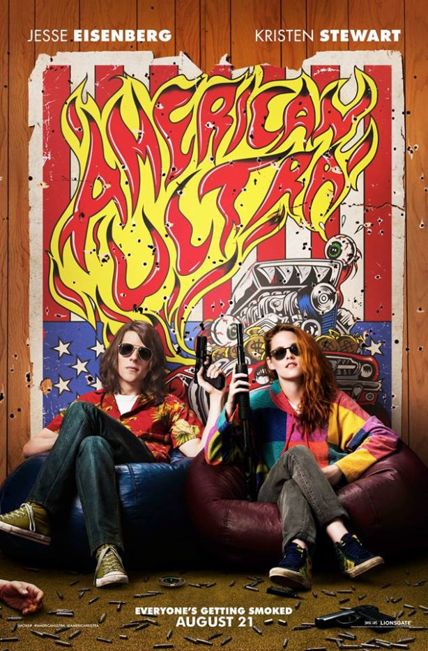 #NEWS #KristenStewart #AmericanUltra un nouveau poster !