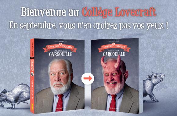 Mon avis sur Le Collège Lovecraft T1 Professeur Gargouille de Charles Gilman @blogfaismoipeur / @BayardEditionsJ