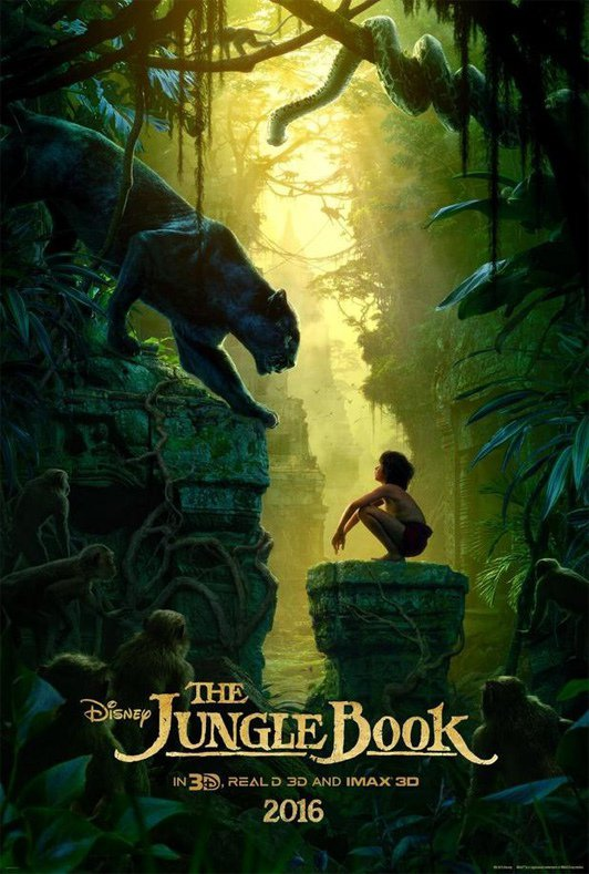 #LeLivreDeLaJungle de Walt Disney sort le 13 avril 2016 affiche + premier teaser !