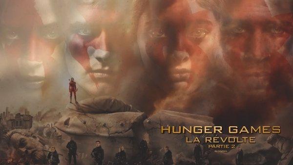 Fond d'écran Hunger Games La Révolte Part 2