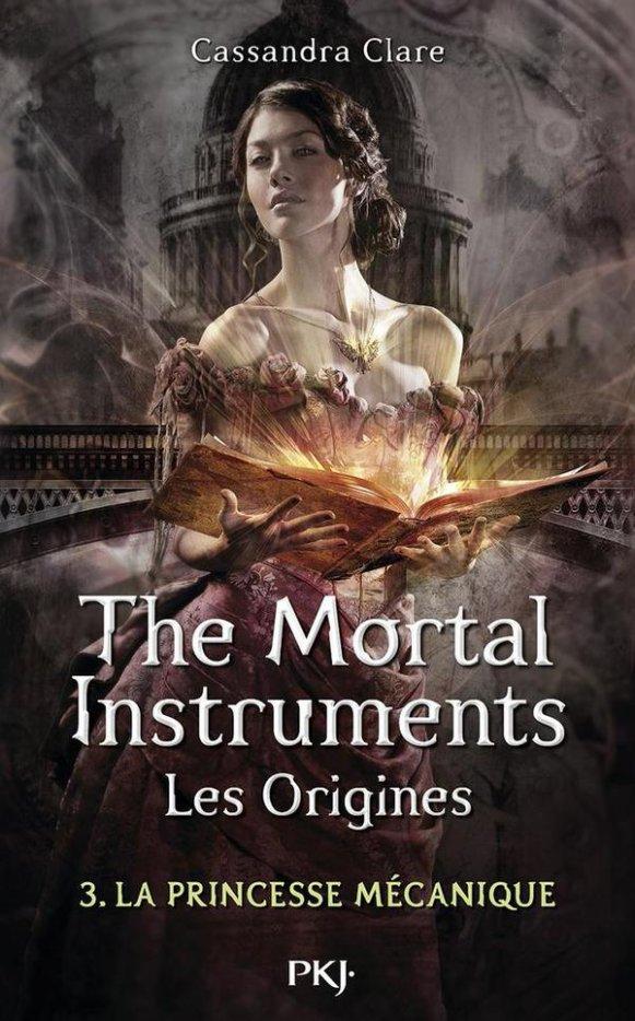 Mon avis sur The Mortal Instruments Les Origines T3 La princesse Mécanique de Cassandra Clare @pocket_jeunesse
