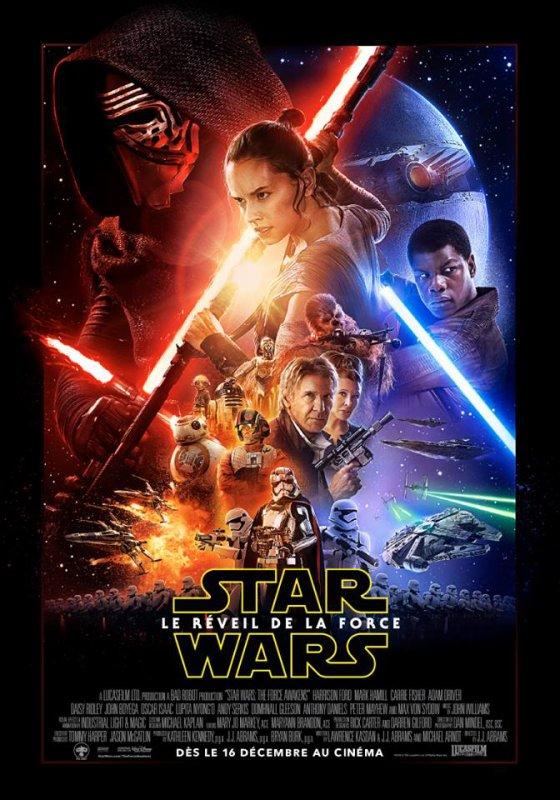#NEWS #StarWars Le réveille de la force l'affiche définitive ! OMG !