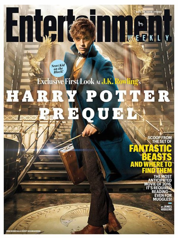 #NEWS #LesAnimauxFantastiques de J.K. Rowling le premier logo du film !