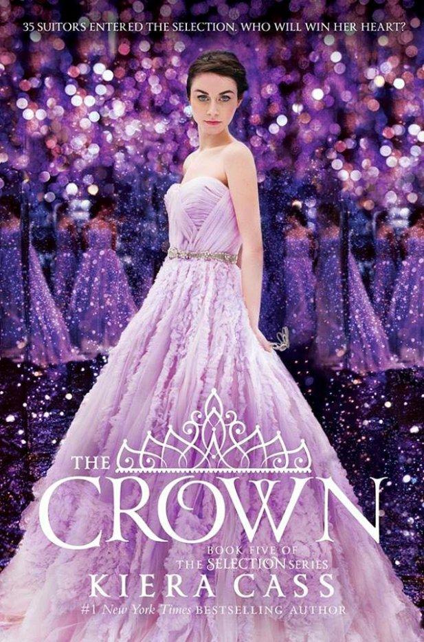 Voici la couverture du dernier tome de La Sélection The Crown de Kiera Cass !