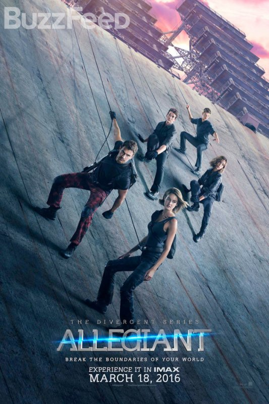 #NEWS #Allegiant les premiers posters et le premier trailer !