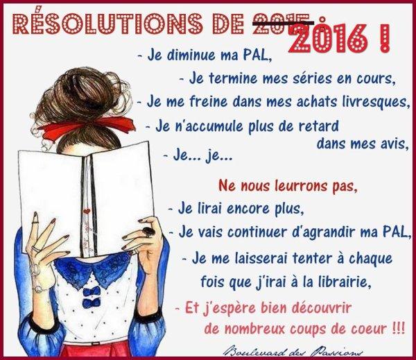 Et vous qu'elles sont vos bonnes résolutions pour cette nouvelle année ?