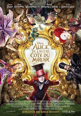 #NEWS Alice de l'autre côté du miroir un nouveau poster !
