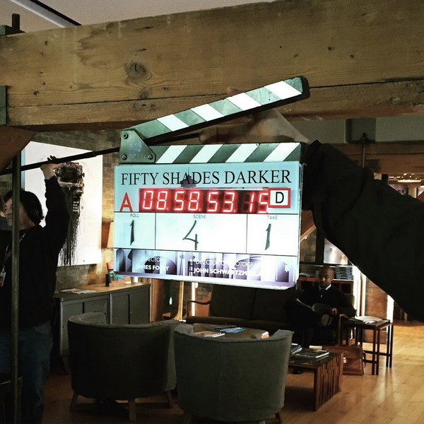 #NEWS #FiftyShadesDarker le tournage à démarré hier !