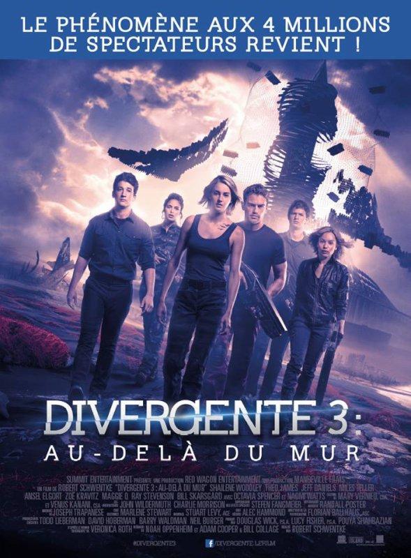 #NEWS #Divergente3 l'affiche finale !