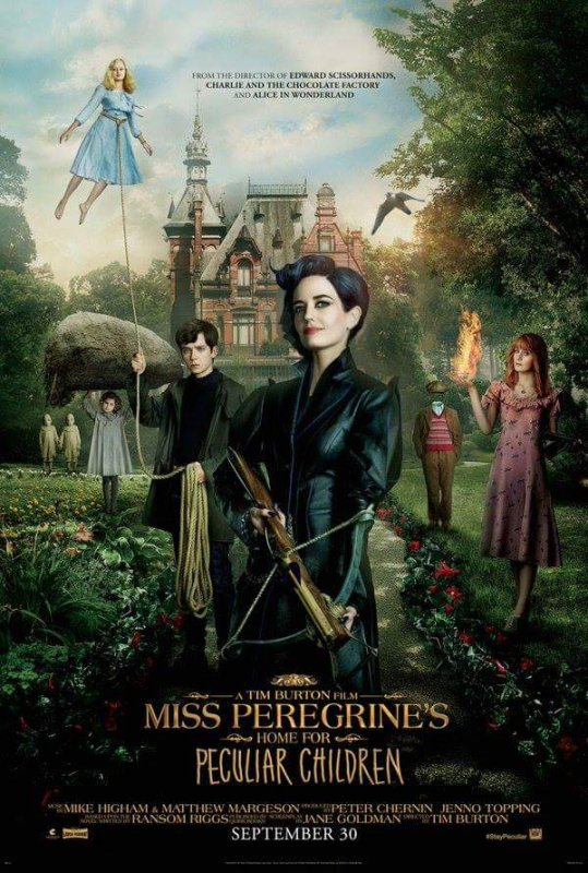 #NEWS Miss Peregrine et les enfants particuliers le poster et le trailer vostfr !