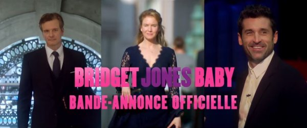 Bridget Jones Baby trailer VF ! J'ai hâte !