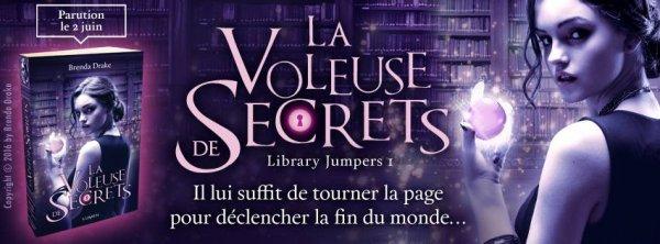 La Voleuse de Secrets T1 de Brenda Drake est à paraître le 02/06 chez Lumen Editions !