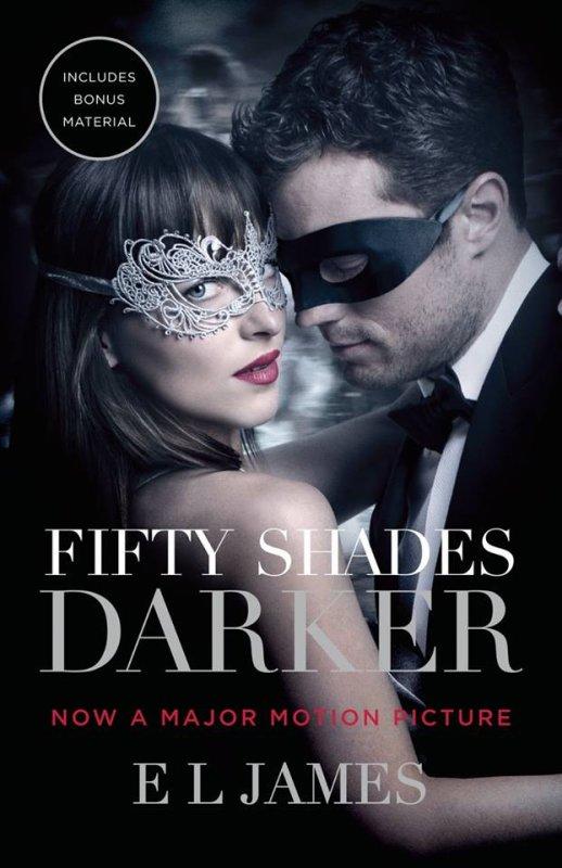 Nouvelle réédition pour #FiftyShadesDarker de E L James aux USA !