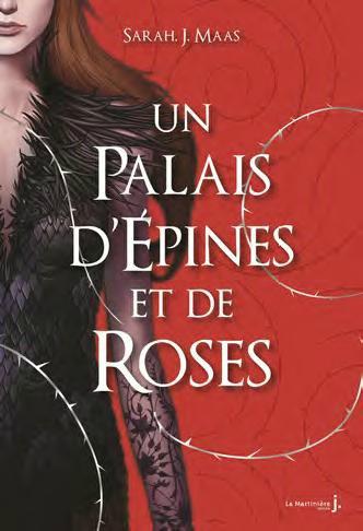 #Présentation : Un Palais d'Épines et de Roses de Sarah J. Maas éditions La Martinière J Fiction