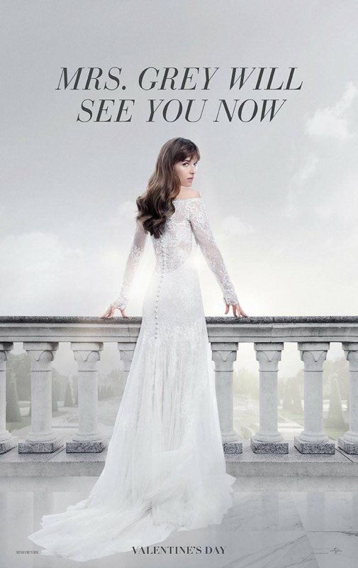 #FiftyShadesFreed premiers posters et trailer.