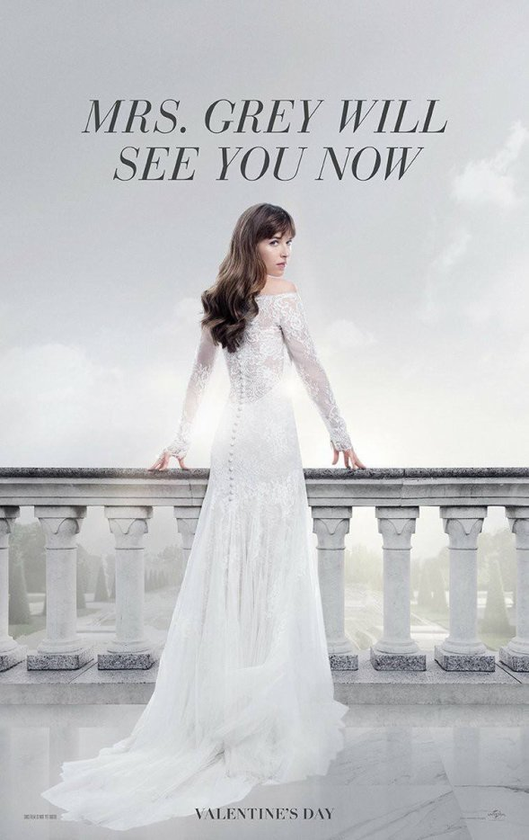 #FiftyShadesFreed premiers posters.